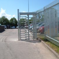commercial electric gates and barriers.