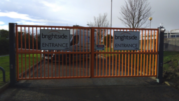 Brightside Insurance Metal gates - TPS Industrial