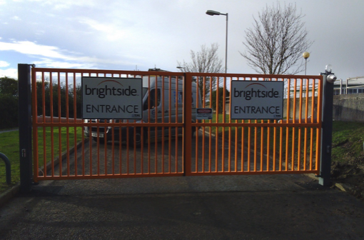 Brightside Insurance Metal gates | TPS Industrial